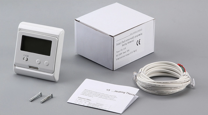 Floor Heating Devices Digital Heating Thermostat With 7 Day Programming