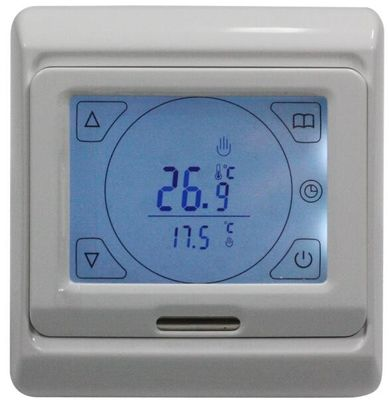 50/60Hz Touch Screen Thermostat , Mechanical Programmable Thermostat