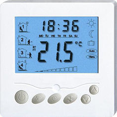 Electric digital heating programmable thermostat