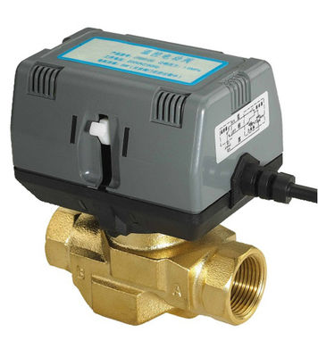 2 Port Motorized Control Valve / Wireless Heating Zone Valve CE Standard