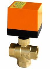 IP55 Motorized Water Valve Ball Structure / Motorised Ball Valve CE Listed