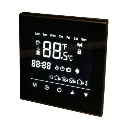 CE Standard Wifi Touch Screen Thermostat For Residential Buildings