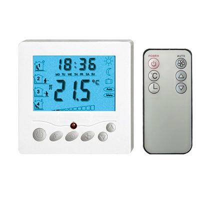 Electric Heated Programmable Floor Thermostat With Remote Control