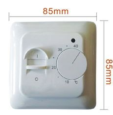 Smarts 230v Thermostat For Floor Heating System / Wireless Underfloor Heating Thermostat