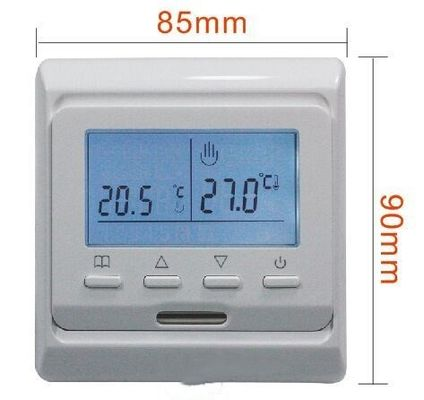 16A Digital Programmable Thermostat For Electric Heat / Underfloor Heating Digital Thermostat