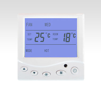 High Frequency Digital Programmable Room Thermostat Heat / Cool Selection