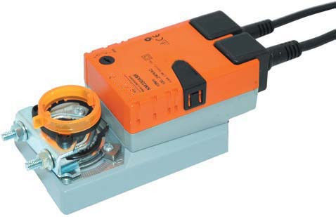 Professional General Air Damper Actuator 10Nm 2 And 3 Point With Electric Power