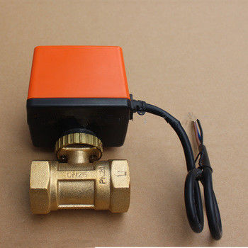 Professional Electrically Controlled Water Valve For HVAC Water System