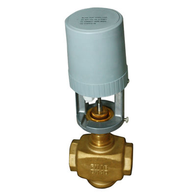 Modulating Control Motorized Ball Valve Manual Operation 3- Point  / On Off Modec
