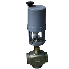 1.6MPA Heat Control Modulating Water Valve AC24V With Cast Aluminum Holder