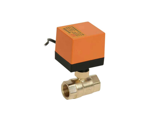 Two Way Brass Motor Operated Ball Valve 230VAC 50Hz OEMN ODM Service