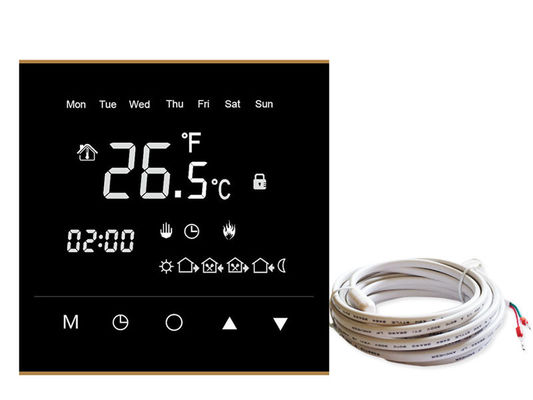 Household Wireless Heating Thermostat 6 Period Programmable AC230V