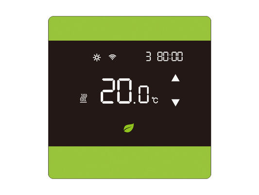 LCD Touch Screen Heating Thermostat NTC Sensor With Setting Range 5-35℃
