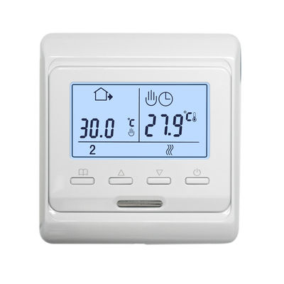 Professional Electric Radiant Heat Thermostat HVAC Systems With LCD Screen