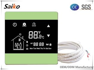 Programmable Heating Thermostat For Floor Heating , CE Approval