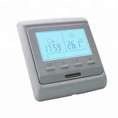 7 Days Programmable Underfloor Heating Thermostat Touch Screen 2W Power
