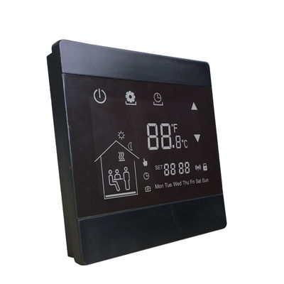 Programmable Underfloor Heating Thermostat With Wall Mounted Installation