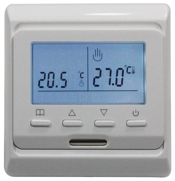 Digital UP Heated Floor Thermostat , Wifi Floor Heating Thermostat HVAC Systems