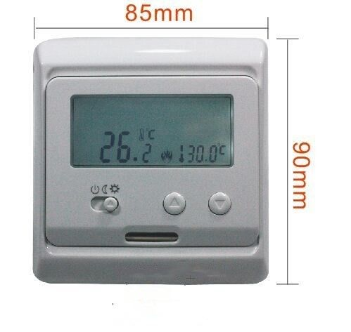 High Reliable Electric Floor Heating Thermostat Wifi Digital Temperature Control