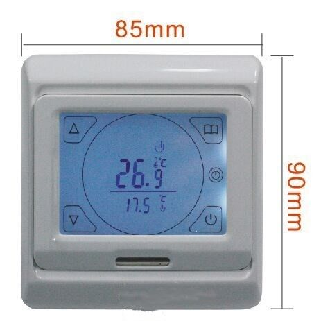 LCD Display Touch Screen Weekly Programming Heating Room Thermostat SK90