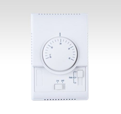 Fan Coil Mechanical Programmable Thermostat Temperature Controller