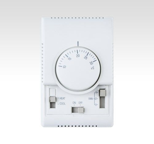 Indoor Mechanical Fan Coil Thermostat 50/60HZ For Cooling And Heating