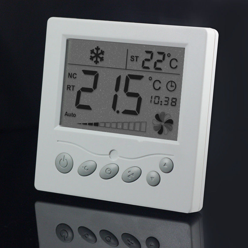 HVAC Systems Digital Temperature Controller Thermostat With Programmable Fan