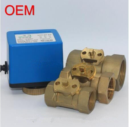 High Frequency Electric Ball Valve Smooth Flow With 15-18S Running Time