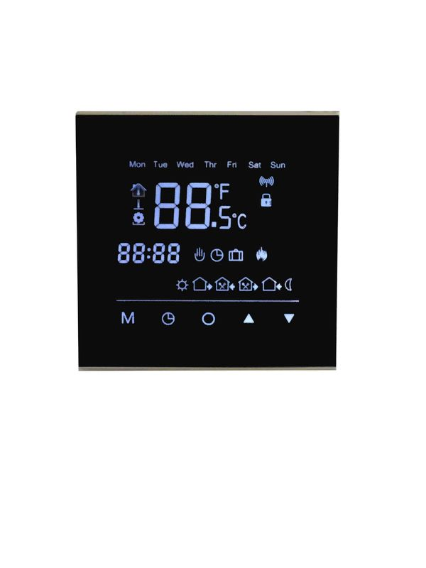 Electronic Touch Screen Thermostat 16A 220V/230V For Floor Heating System