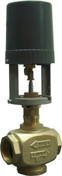 Brass Thread Modulating Control Valve 0.129mm/S Run Speed With Standard Size