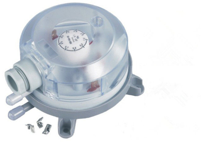 IP54 HVAC Controls Products Micro Low Sdjustable Differential Pressure Switch For Air