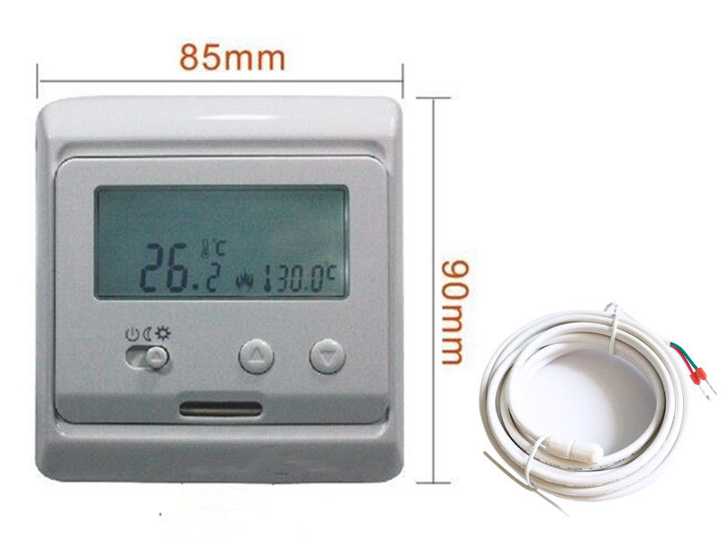 Electronic Temperature Controller Smart Thermostat Underfloor Heating 230V 50Hz With NTC Sensor