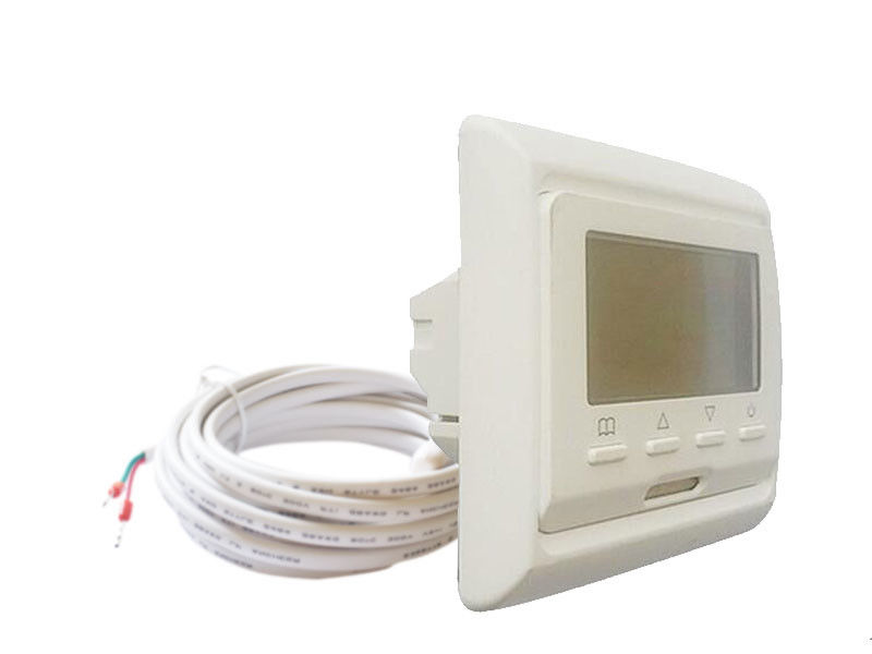 50/60HZ Wall Mounted Heated Floor Thermostat HVAC Systems CE RoHS Listed