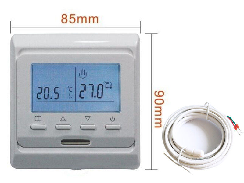 Floor Heating HVAC Programmable Radiator Thermostat With Digital Temperature Controller