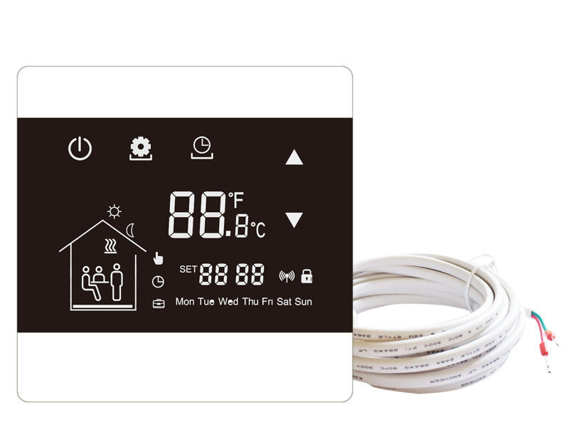 Digital weekly Programming Touchscreen Smart Thermostat With LCD display screen