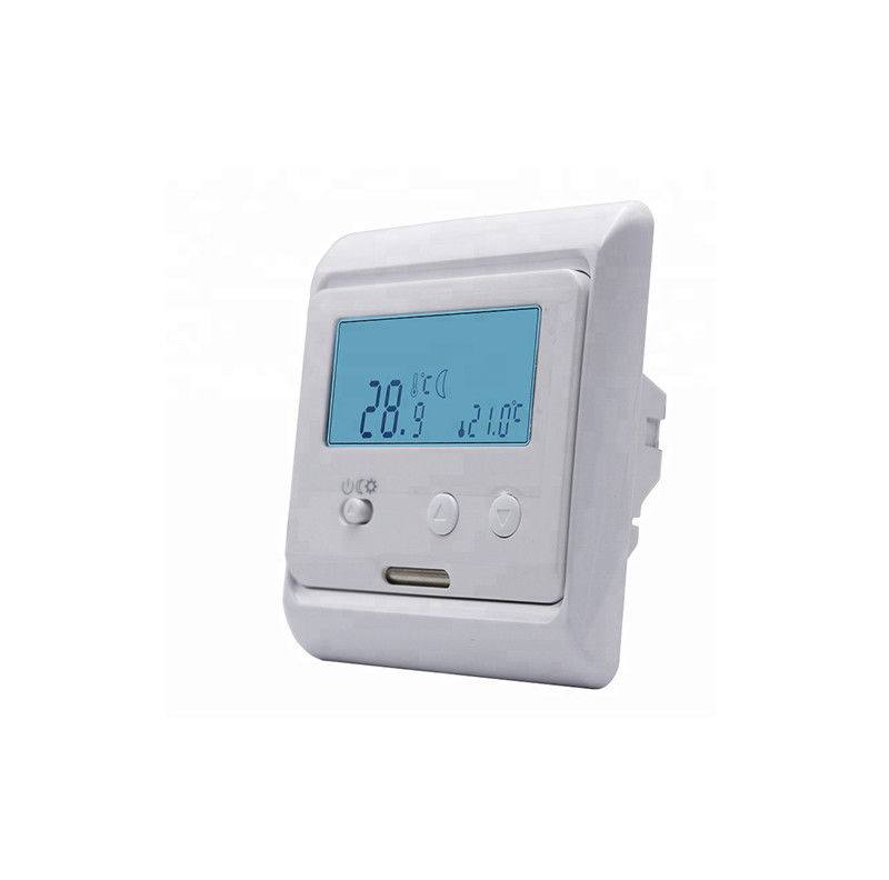 Smart Digital Heated Floor Thermostat NTC Sensor 220V - 240V With LCD Screen