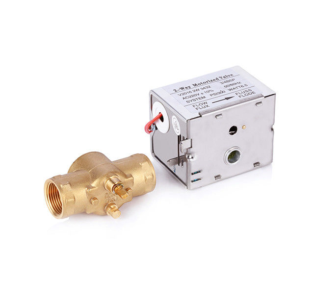 Female Thread Central Heating Diverter Valve For Building Automation System