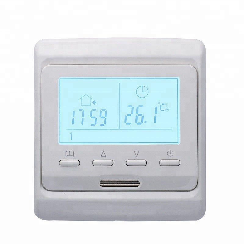 Digital Weekly Programming Heated Floor thermostat With Floor Sensor