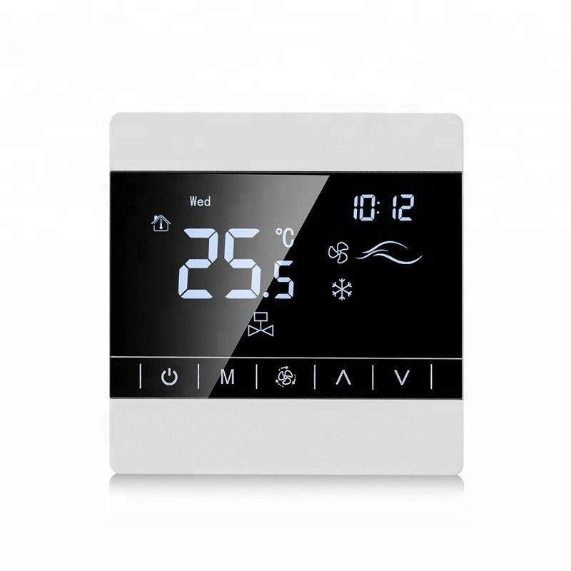 Room Digital Touch Screen Underfloor Heating Thermostat 50/60Hz Frequency