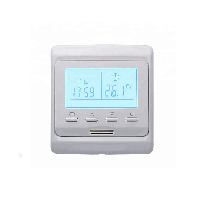 Underfloor Heating Thermostat Wifi , Electric Radiant Floor Heat Thermostat