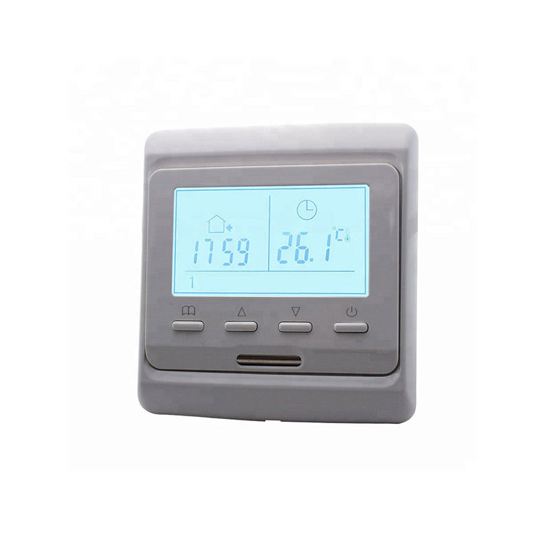 Electric Radiant Heated Floor Thermostat With Keys And LCD Screen High Performance