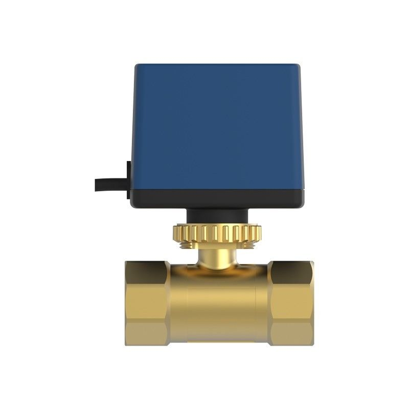 IP55 Brass Motorized Ball Valve / 2Way , 3Way Electric Operated Ball Valve