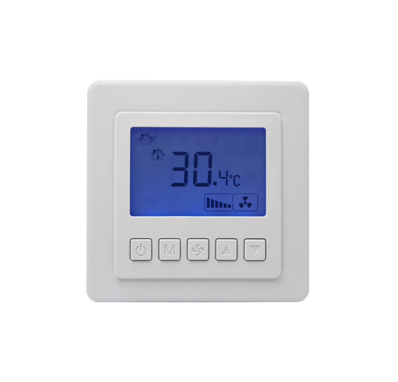 HAVC Fan Coil Unit Digital LCD Room Thermostat