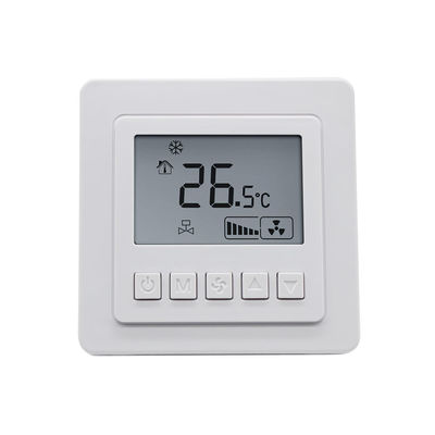 LCD Cooling And Heating Thermostat / HVAC Systems Digital Ac Thermostat